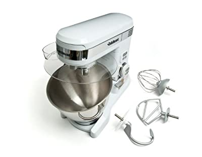 Cuisinart 5.5 Quart 12-Speed Stand Mixer SM-55, White Metal by Conair-B Stock