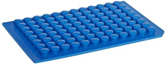 Sun Sri PTFE/Silicone Microplate Mat, 96 Round Well, Dome Base (Pack of 5)