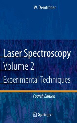 Laser Spectroscopy: Vol. 2: Experimental Techniques