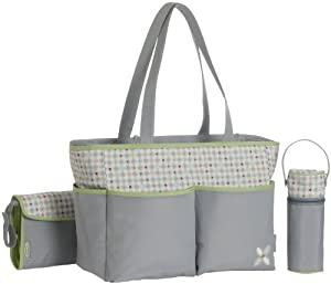 Graco Pasadena Diaper 3 pc Diaper Bag Set