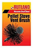 Rutland Products PS-4 4-Inch Round Pellet Stove Brush