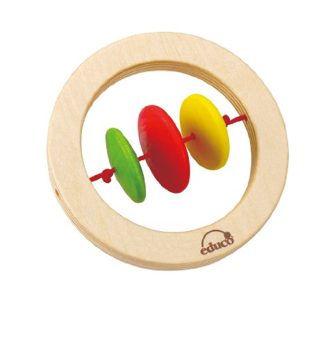 Hape - GrabHappy Ring Rattle