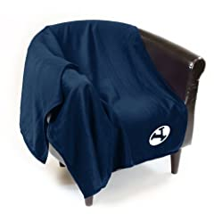 BYU Cougars Official Sweatshirt Throw by Logo Chair Inc. by Logo Chair Inc.
