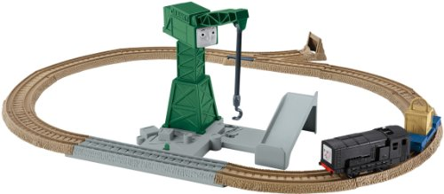 Fisher-Price Thomas The Train TrackMaster: Cranky's Spinning Cargo Drop