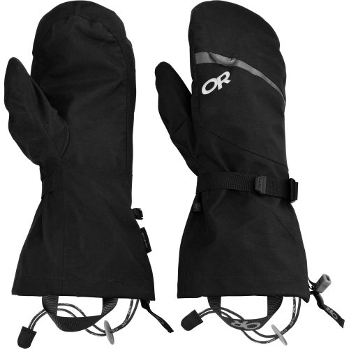 Outdoor Research Mount Baker Shell Mitts (Black, Small)