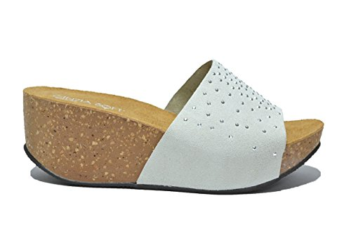 Cinzia Soft Ciabatte zeppa ghiaccio sandali donna IG8443002 38