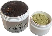 buy Dead Sea Mud Mask 100% Organic Dead Sea Mud From Israel * Plus A Jar Of Seaweed Powder To Boost Mud Mask & Tighten Skin For Woman, Men & Teens