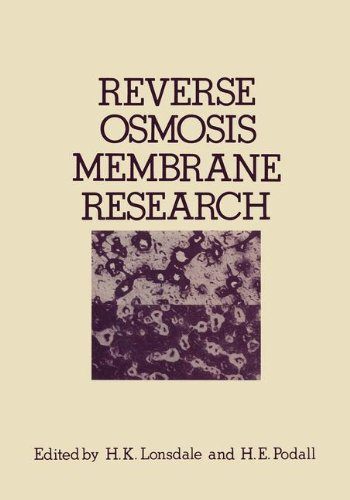 Reverse Osmosis Membrane Research: Based on the symposium on