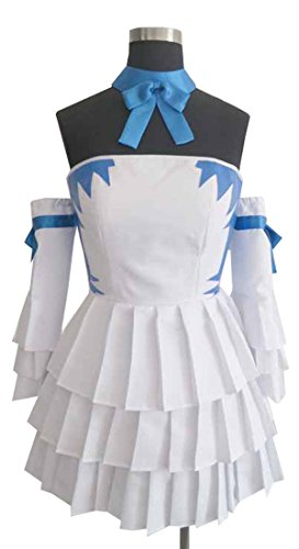 CosEnter Anime Fairy Tail Lucy Daily Dress Cosplay Costume