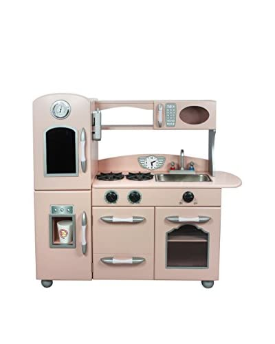 TEAMSON Kids' Pink Country Living Play Kitchen