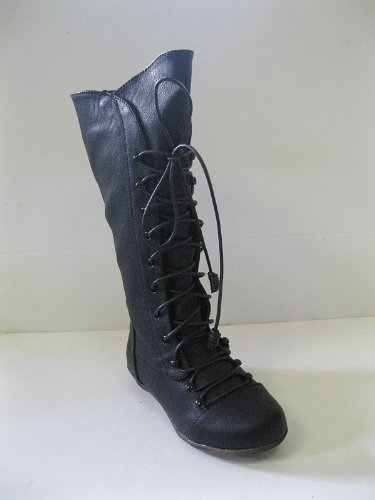 GIRLS BOOTS BLACK STYLE - H4075