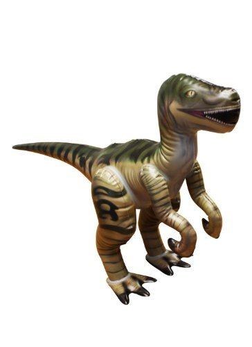 "14""H x 7""W x 14""L Inflatable Velociraptor Jr. ,Large Inflatable Dinosaurs Animals Toys for indoor and Outdoor Play"