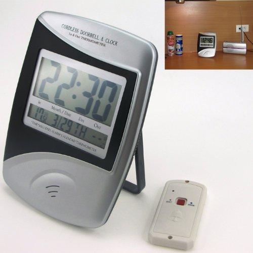 Captelec 23454 citofono wireless senza fili con termometro - Citofono wireless lunga portata ...
