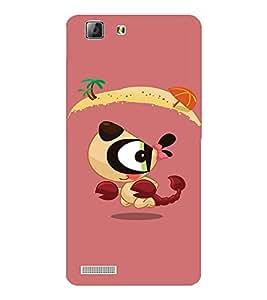 EPICCASE Beach cool Mobile Back Case Cover For LENOVO A6600 (Designer Case)