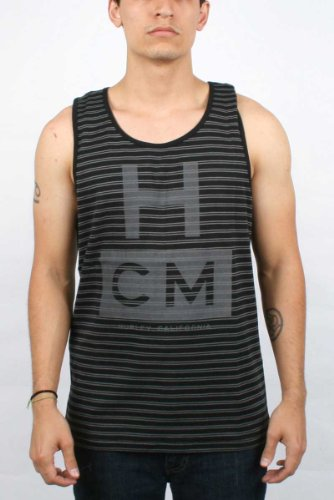 Hurley - Mens T Ball Knit Tank Top, Size: Small, Color: BLACK