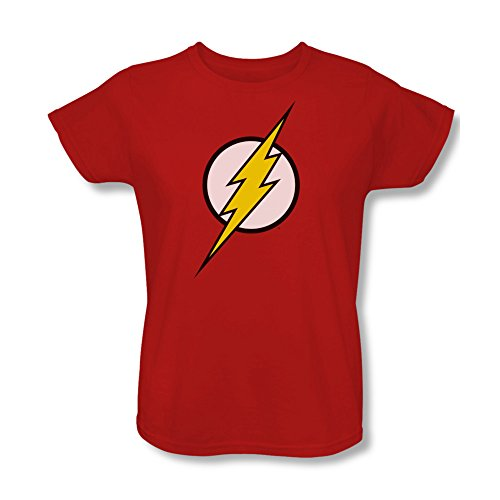 Flash Symbol Women's Red T-Shirt (XX-Large)