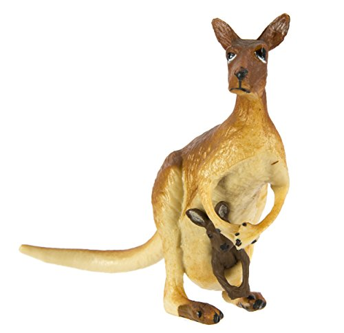 Safari Ltd  Wild Safari Wildlife Kangaroo with Baby