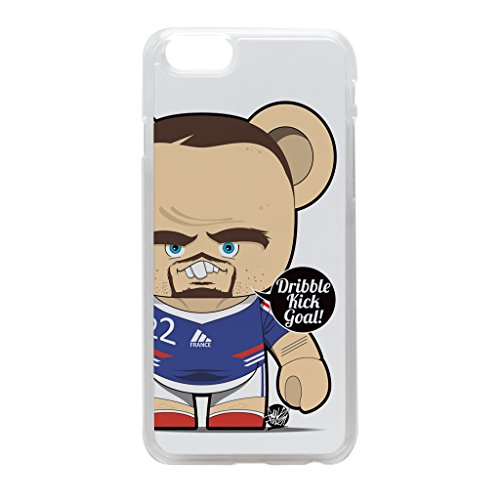 Franck Ribery Crystal Clear Hard Plastic Case for iPhone 6 by Gangtoyz + FREE Crystal Clear Screen Protector