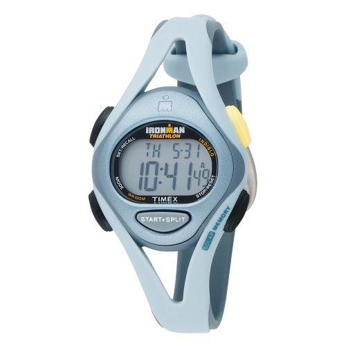 Timex Women's T59211 Ironman Triathlon Sleek 50-Lap Resin Strap Watch