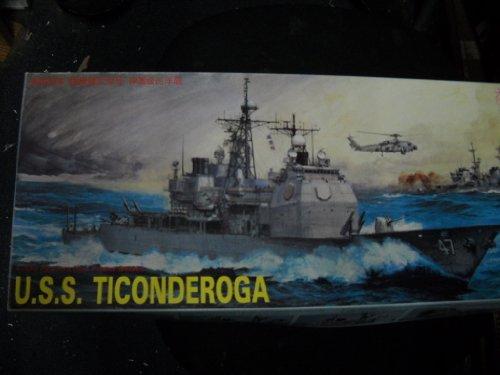 U.S.S. Ticonderoga 1:350 Scale Model Kit