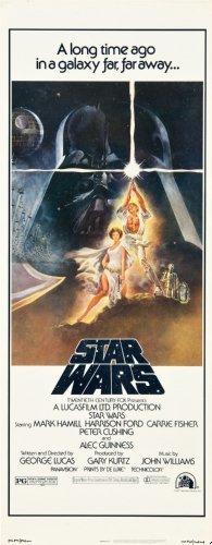 Star Wars Movie Poster Insert 14x36 (Movie Insert compare prices)