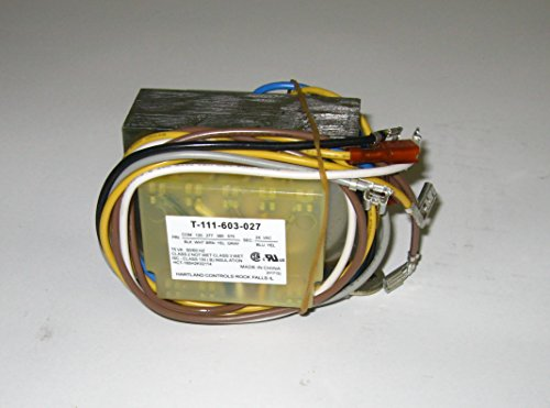 Class 2 not wet Class 3 Wet Foot Mount Transformer w/ Circuit Breaker 120/277/380/575 to 24V 75VA T-111-603-027 (Hartland Controls compare prices)