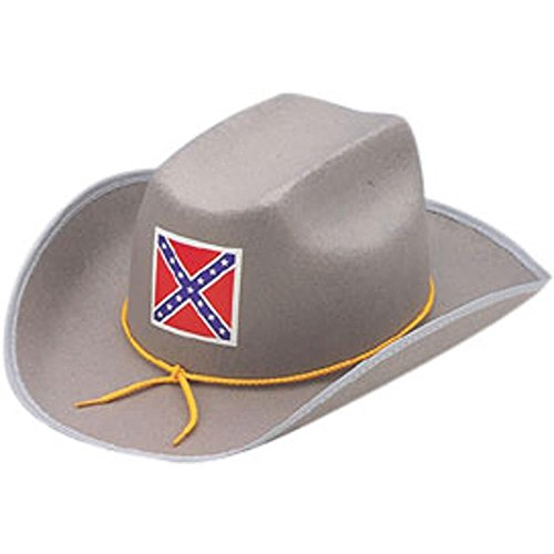 Adult Civil War Confederate Officer Costume Hat