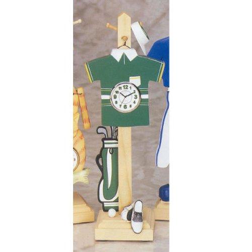 Wood Golf Clock
