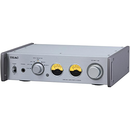 teac-ai-501da-s-integrated-amplifier-with-192khz-usb-audio-input-silver