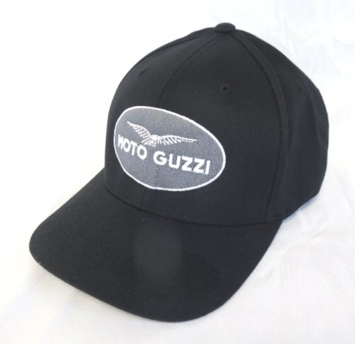*MonoChrome* Moto Guzzi Logo Hat - Large- (Moto Guzzi Parts compare prices)