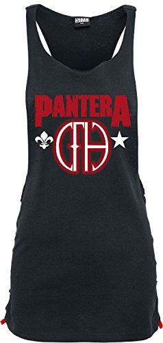 Pantera Cowboys From Hell Top donna nero L