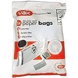 Vax - 010916 - Lot de 5 sacs + 3 filtres pour aspirateur vax 6131, 6151sx, 7151