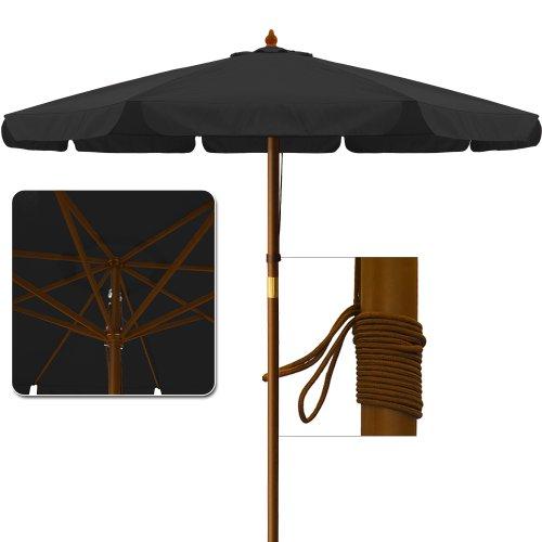 3.5 M Garden Parasol Sun Shade Patio Umbrella Outdoor Sunshade Canopy Sun  Protection