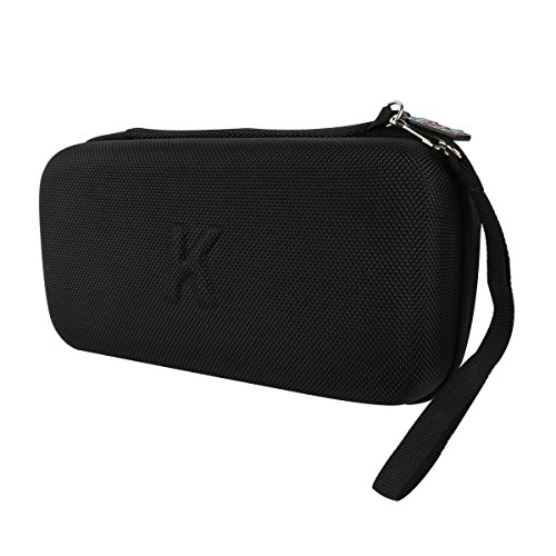 Khanka All-in-one Double Compartment Carry Travel Case Bag For Video Game Consoles NEW Nintendo 3DS XL /NEW 3DS LL / NEW 3DS/ DSi/DSi XL /DS - Black - Fits Wall charger and other accessories (Travel Gaming Console compare prices)