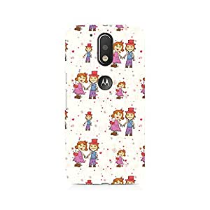 Motivatebox- Scarecrow Love Premium Printed Case For Moto G4/G4 Plus -Matte Polycarbonate 3D Hard case Mobile Cell Phone Protective BACK CASE COVER. Hard Shockproof Scratch-