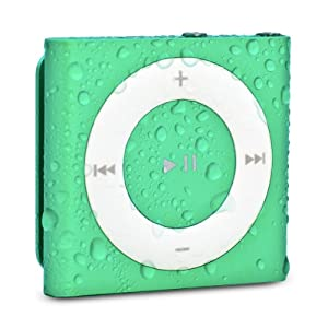 Waterfi 100% Waterproof MP3 with Dual Layer Technology - No Case Needed - (Green)