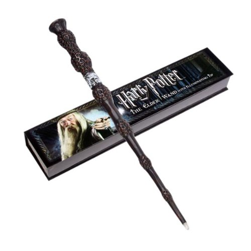 Harry potter the elder wand illuminating tip geek armory for Elder wand toy