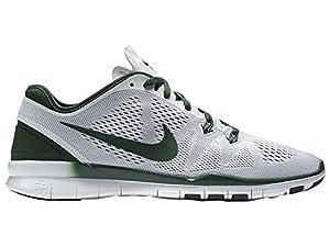 Nike Women's Free 5.0 Tr Fit 5 White/Gorge Green Training Shoe 7 Women US