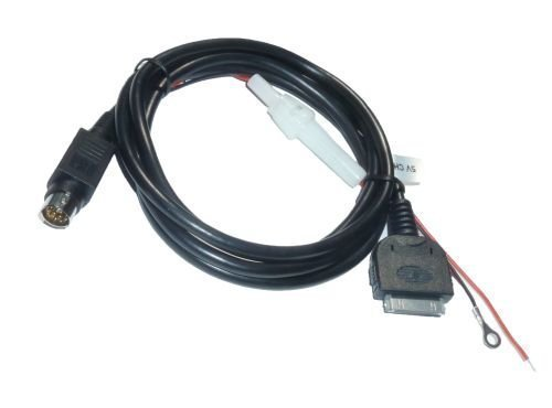 5041 iPhone iPod Navi MFD RNS AUX Adapter Kabel mit 5V Ladefunktion