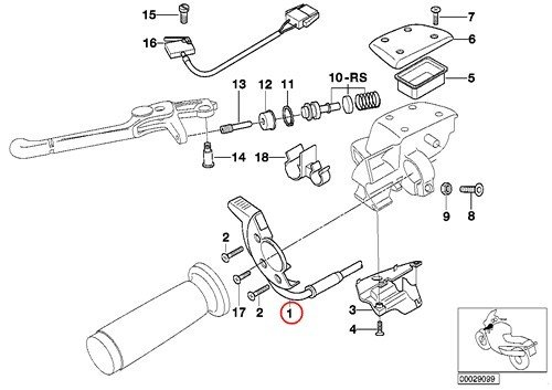 Get Cheap Bmw Genuine Motorcycle Clutch Fitting Choke Control Lever