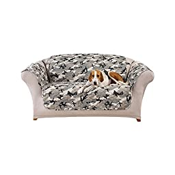 Sure Fit Camouflage Loveseat Furniture Cover, Gray