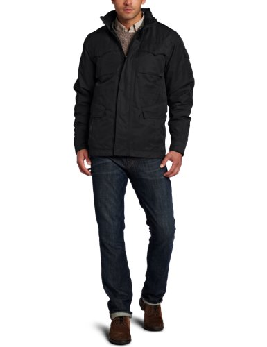 Spiewak Men's Systems Field Jacket, Black, Medium