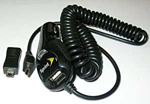 OEM Sprint Car Vehicle Power Charger with Additional USB Port for Boost Mobile Sanyo Mirro SCP-3810 - Cricket ZTE Chorus D930 - MetroPCS Kyocera Presto S1350 - Sprint BlackBerry Style 9670 - Sprint Motorola MOTO i776 - Sprint Samsung Transform - Sprint Samsung Transform Ultra M930 - Sprint Palm Pixi Eos - Sprint Motorola Q9m
