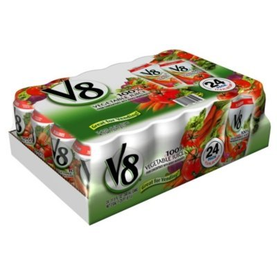 V8 100% Vegetable Juice - 24/11.5 oz. cans