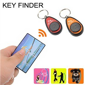 15-30M Wireless One To Two Nonradiative Anti-Loss Electronic Key Finder With Card Transmitter