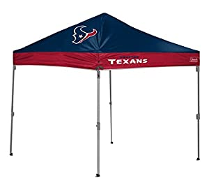 NFL Straight Leg Canopy with Case 10 x 10-feet from Coleman