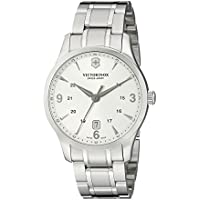 Victorinox Swiss Army Classic Alliance Mens Silver Face Watch (241476)