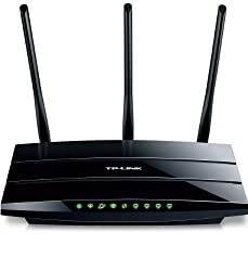 TP-Link TD-W8970 Gigabit Wireless N ADSL2+ Modem Router for Phone Line Connections (300 Mbps, 2 USB Ports for Storage Sharing, Media/Print Server and Multi Accounts)