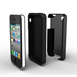 Acase(TM) iPhone 4 4S Case - Superleggera PRO Dual Layer Protection Case