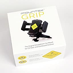 Mountek GRIP Universal CD Slot Mount for Cell Phones and GPS Devices
